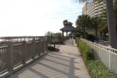 Walkway at The Beach Club