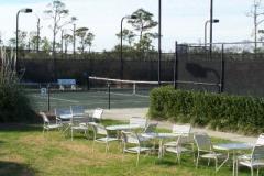 Tennis courts at Beach Club